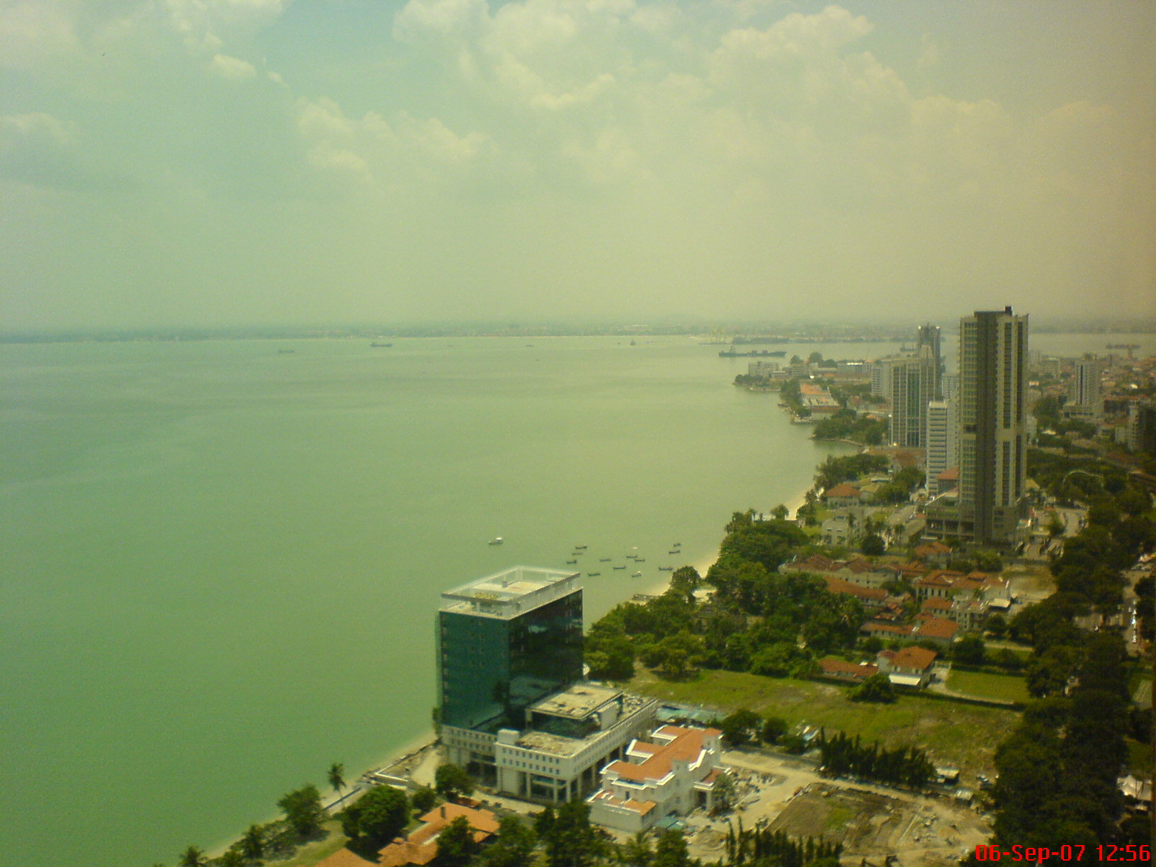 view at 36th floor