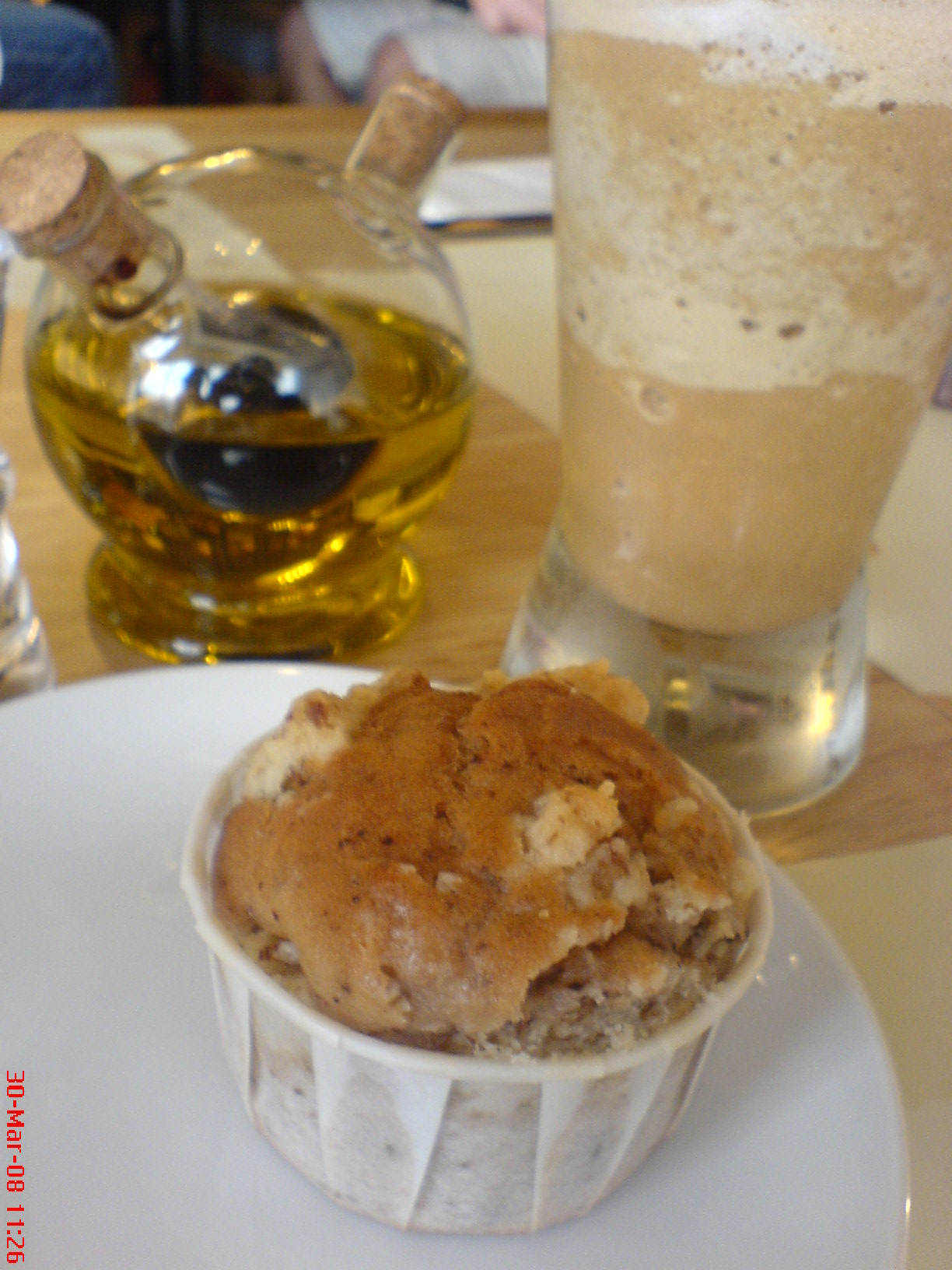 frappelicious banana muffin