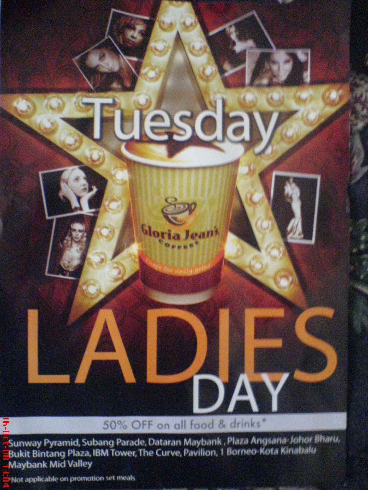 Promotion for ladies