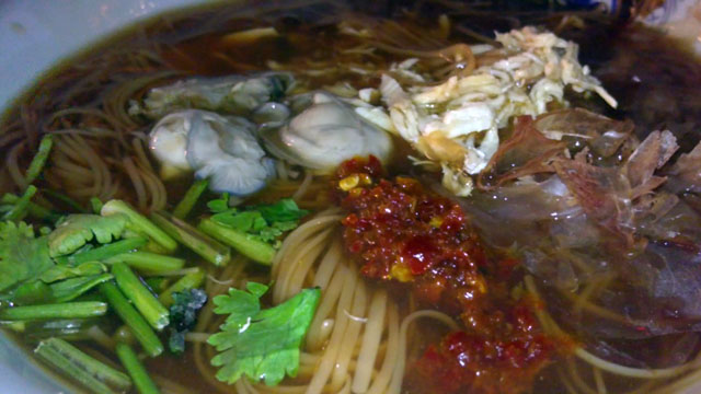 oyster mee suah