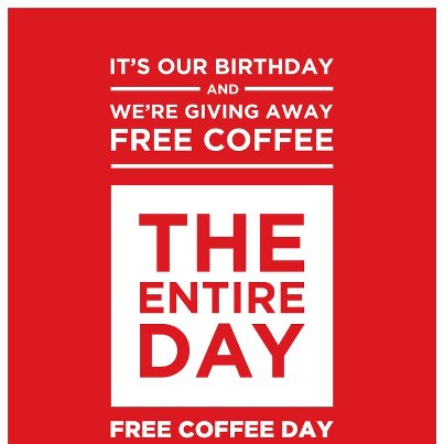 Free San Francisco Coffee!